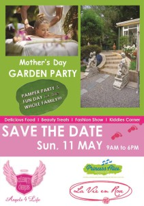 A fun-filled family day in a beautiful, secure garden restaurant