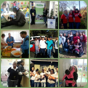 Mandela Day Volunteer Collages